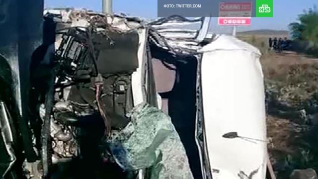В ДТП на северо-западе Турции погибли семь человек, в том числе ребенок