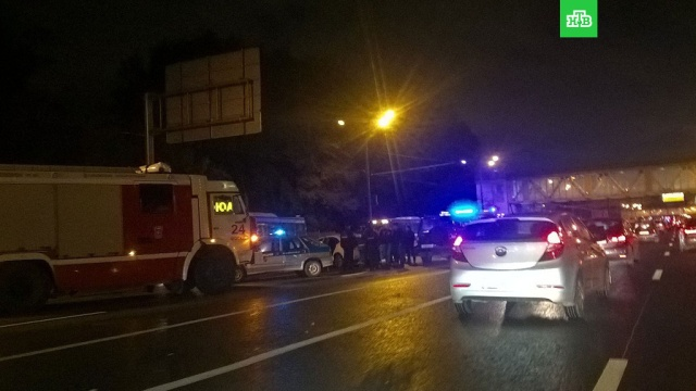 В Москве восстановили движение после массовой аварии на Варшавском шоссе
