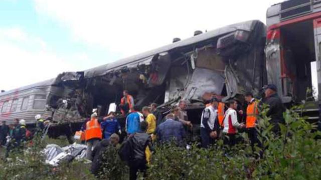Возбуждено уголовное дело по факту ДТП с поездом в ХМАО