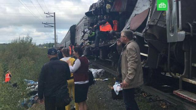 В ХМАО восстановили движение поездов после аварии с грузовиком