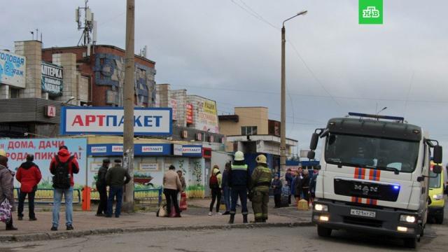 Автовокзал, дума и четыре ТЦ эвакуированы после звонков о бомбах в Архангельске