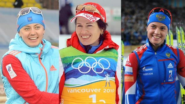 Попавшие в ДТП биатлонистки Медведцева, Вилухина и Слепцова возвращались с соревнований