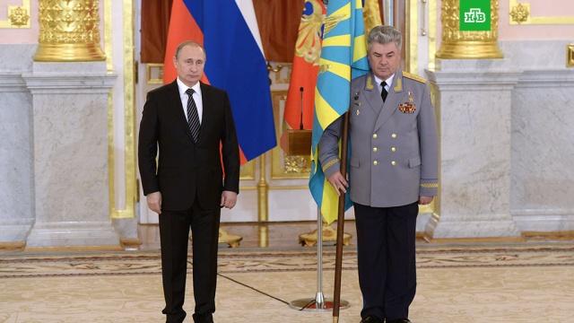 Путин уволил с военной службы главкома ВКС Бондарева