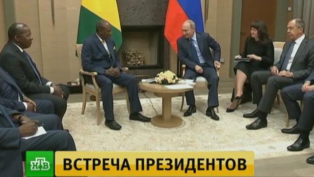 Путин отметил интерес российских инвесторов к Республике Гвинея