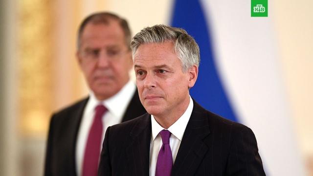 Новый посол США пообещал работать над восстановлением отношений с Россией