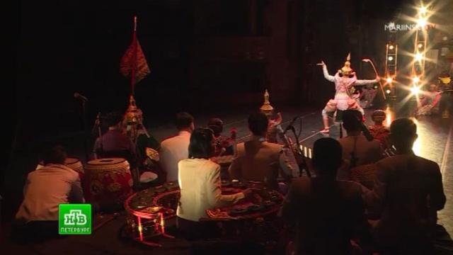 Принцесса Таиланда нанесла театральный визит в Петербург