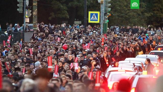 В Петербурге скорая не успела к умирающей женщине из-за перекрытых во время митинга дорог