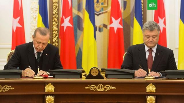 Эрдоган уснул во время пресс-конференции с Порошенко: видео
