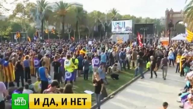 Это не независимость: речь Пучдемона каталонцы восприняли неоднозначно