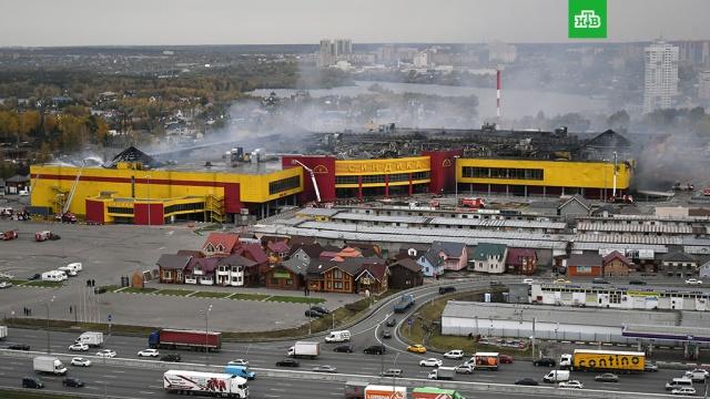 Собственники Синдики потеряли из-за пожара около 4 млрд рублей