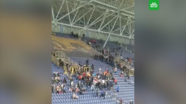 Фанаты во время матча избили депутата Рады: видео