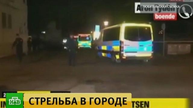 В шведском Треллеборге неизвестный открыл огонь по людям, есть пострадавшие