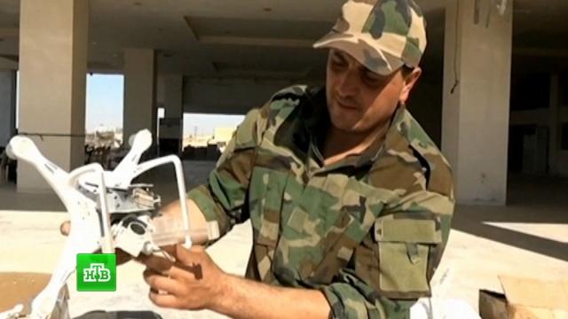 Сирийские военные нашли оружие НАТО на складе боевиков ИГИЛ