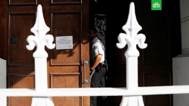Посольство РФ: власти США не дали вывезти архив из генконсульства в Сан-Франциско