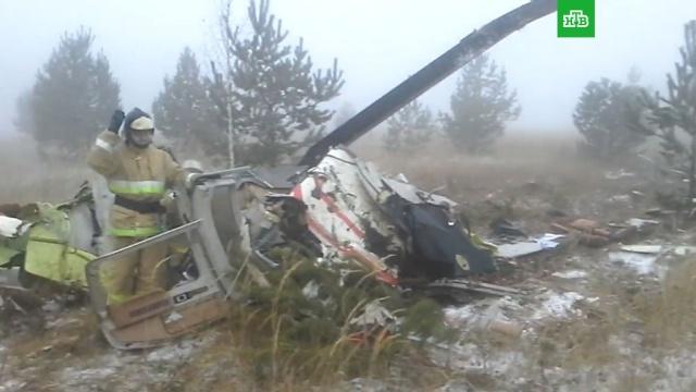 В Татарстане разбился вертолет Bell 407