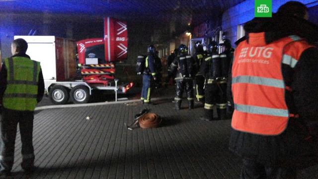 Возгорание в аэропорту Внуково локализовано