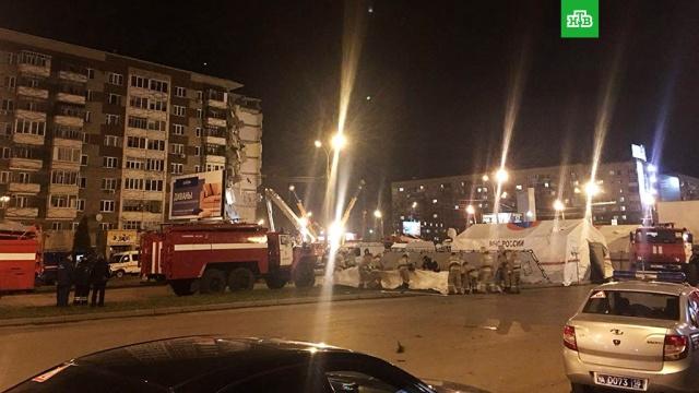 Ижевск накрыла волна сообщений о минировании после обрушения дома