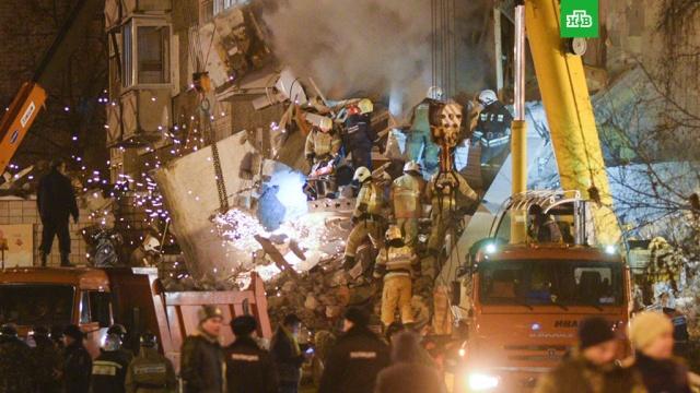 Из-под завалов дома в Ижевске извлекли тело четвертого погибшего