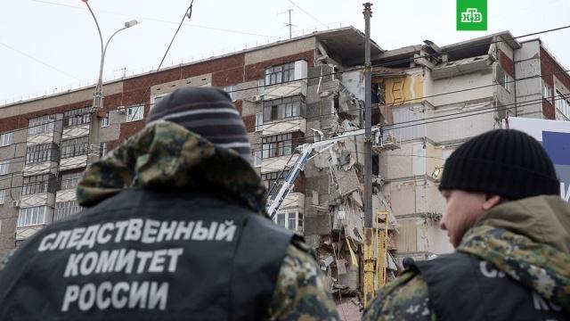 Приостановлены спасательные работы на месте обрушения дома в Ижевске