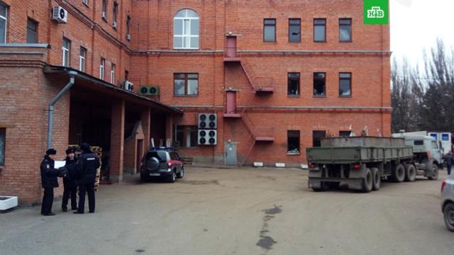 Хлопок на дрожжевом заводе в Пензе выбил окна в здании полиции