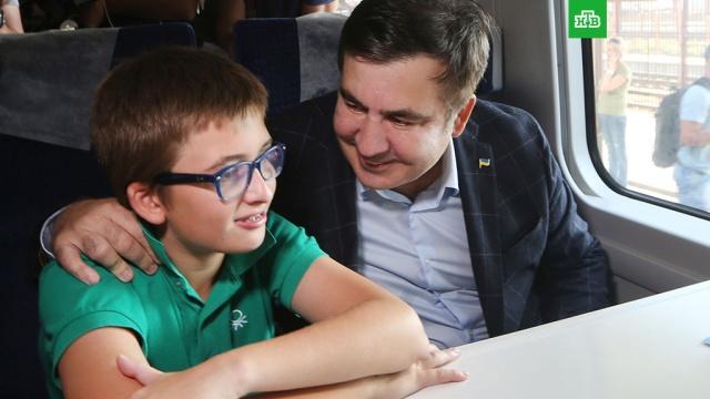 Госпогранслужба Украины опровергает сообщения о задержании сына Саакашвили в аэропорту