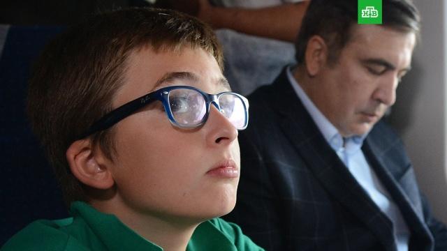 Саакашвили заявил о задержании своего 11-летнего сына в аэропорту Киева
