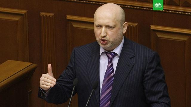 Турчинов пригрозил расстреливать украинцев за сотрудничество с Россией