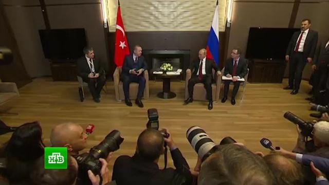Эрдоган: Турция надеется на восстановление упрощенного визового режима с РФ