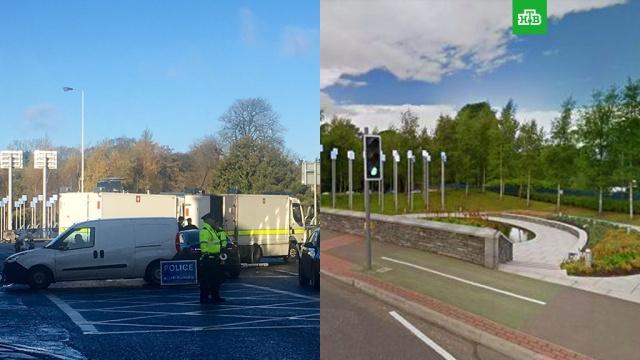 Полиция обезвредила бомбу у мемориала в Северной Ирландии