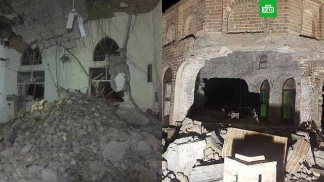Землетрясение на границе Ирана и Ирака: десятки человек погибли, сотни пострадали