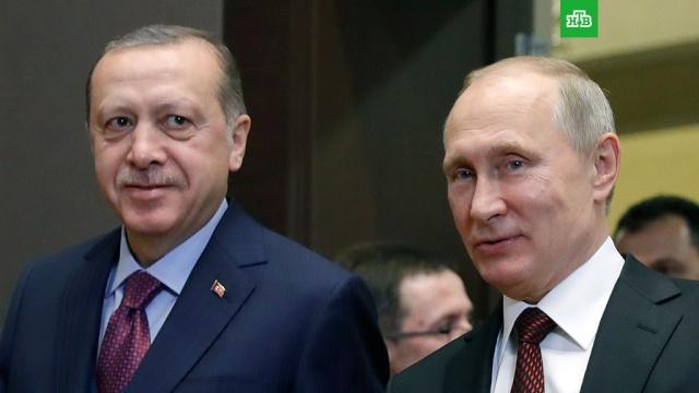 Песков: Путин и Эрдоган обсудили вопрос о безвизовом въезде
