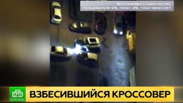 Полиция ищет ночного гонщика на Audi с севера Петербурга
