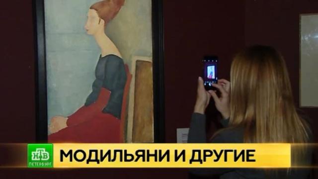 В Петербург привезли знаменитые портреты Модильяни