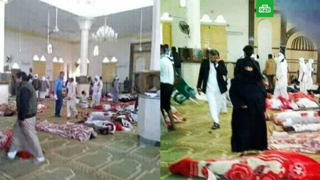 Число погибших при взрыве в мечети Египта возросло до 85