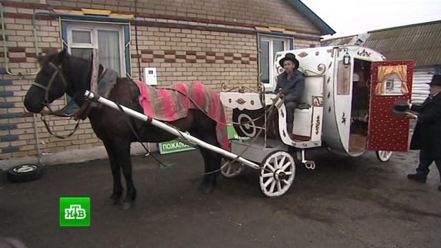 Пенсионер из Татарстана соорудил для супруги роскошную карету 8-kareta2