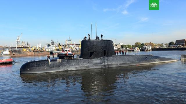 Два моряка сошли с аргентинской подлодки перед ее исчезновением