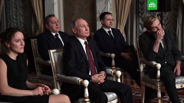 За душу берет: Путин посмотрел фильм Легенда о Коловрате