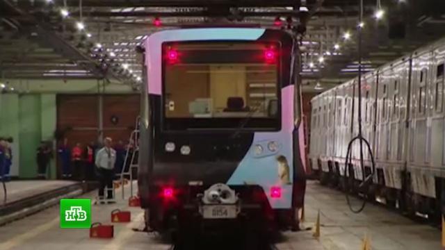 В московском метро запустили экологический поезд