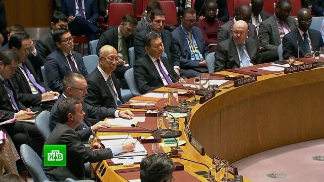 Совбез ООН на экстренном заседании осудил новые ракетные испытания КНДР