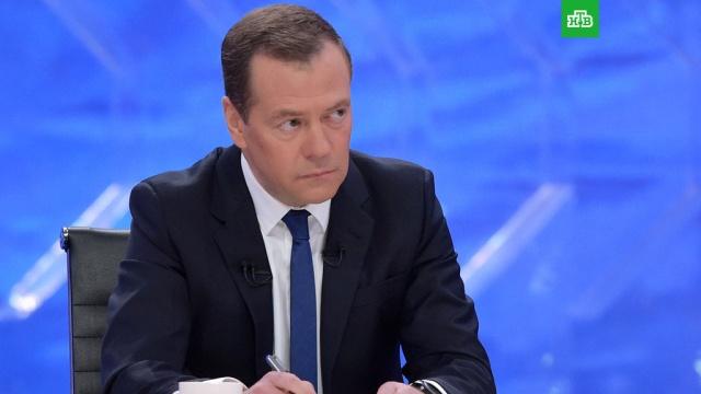 Медведев чувствует себя счастливым на посту премьер-министра