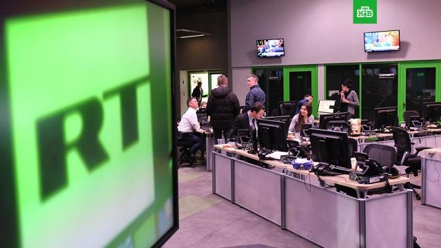 Журналистов RT лишили аккредитации в Конгрессе США
