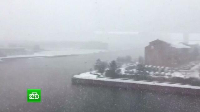 Великобританию накрыл снежный циклон