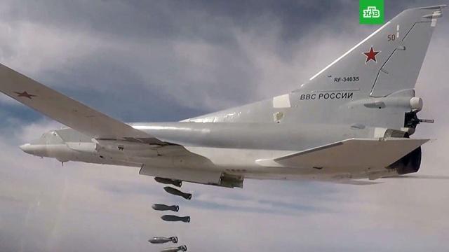 Российские бомбардировщики нанесли удары по ИГ в Дейр-эз-Зоре