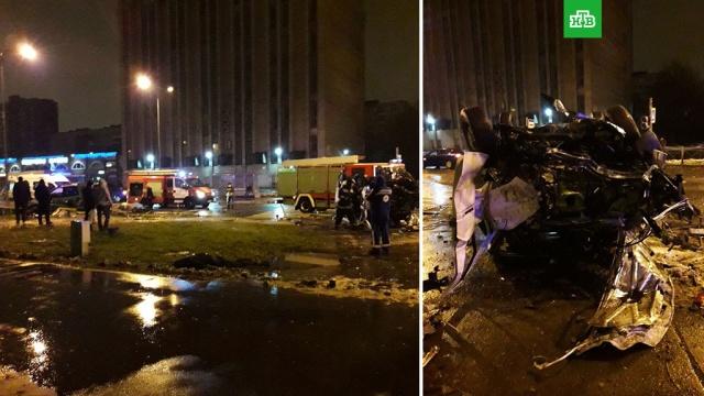 В ДТП в Санкт-Петербурге погибли четверо сотрудников Горэлектротранса