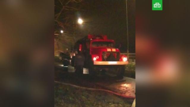 Семь человек погибли при пожаре в Калужской области