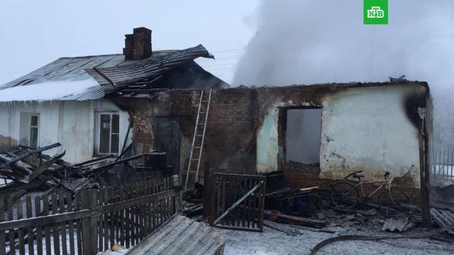 Пятеро детей погибли при пожаре в частном доме под Новосибирском