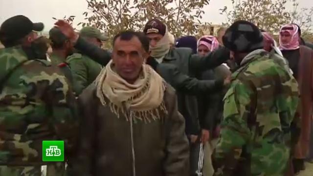 Несколько десятков боевиков сдались властям Сирии в Алеппо