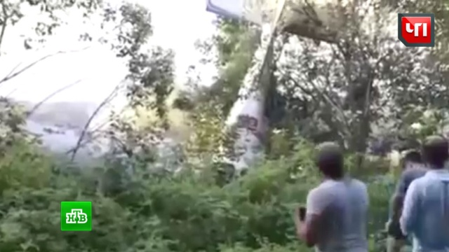 СК подключился к расследованию авиакатастрофы в Абхазии после сюжета НТВ
