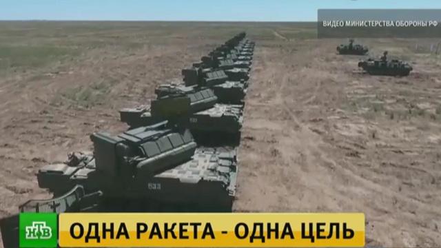 В Астраханской области зенитчики провели боевые пуски