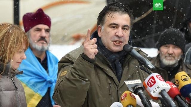 Саакашвили провозгласил новую Сечь у стен Верховной Рады